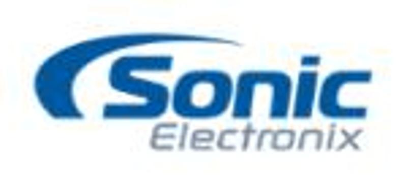 Sonic Electronix Coupons & Promo Codes