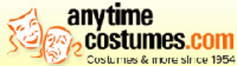 Anytime Costumes Coupons & Promo Codes