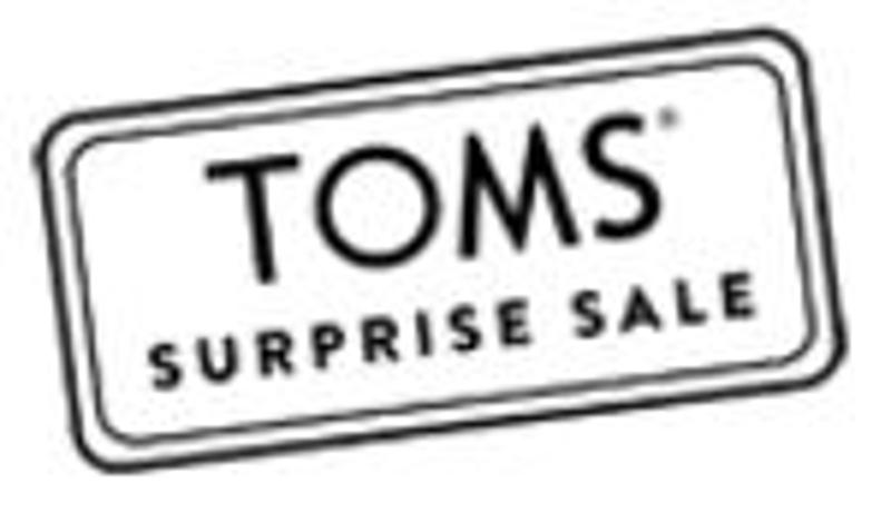 TOMS Surprise Sale Coupons & Promo Codes