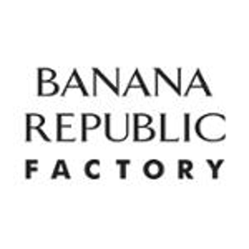 Banana Republic Factory Coupons & Promo Codes