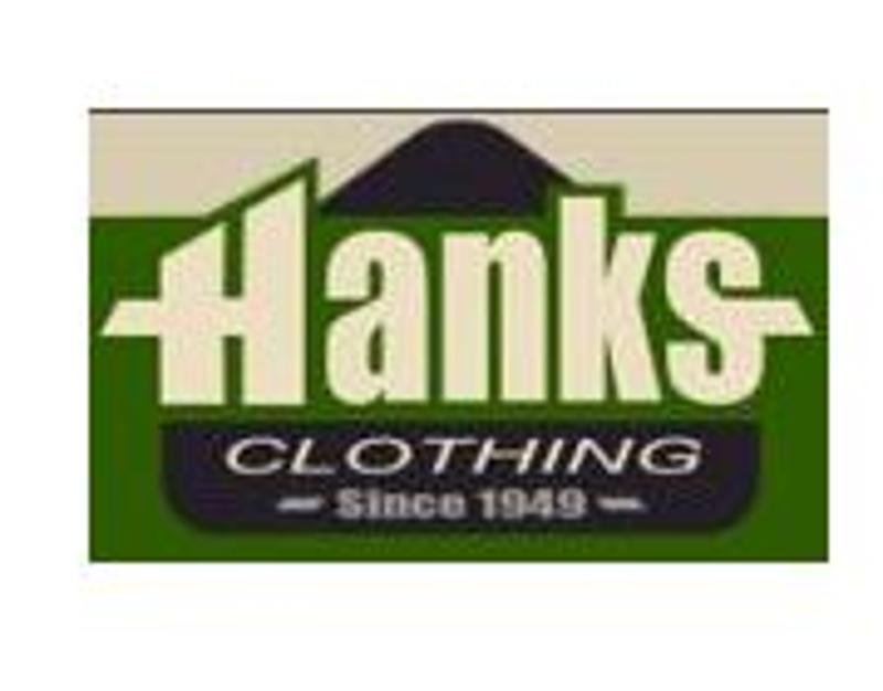 Hanks Clothing Coupons & Promo Codes